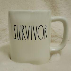 Rae Dunn Survivor Mug NWT Artisan Collection